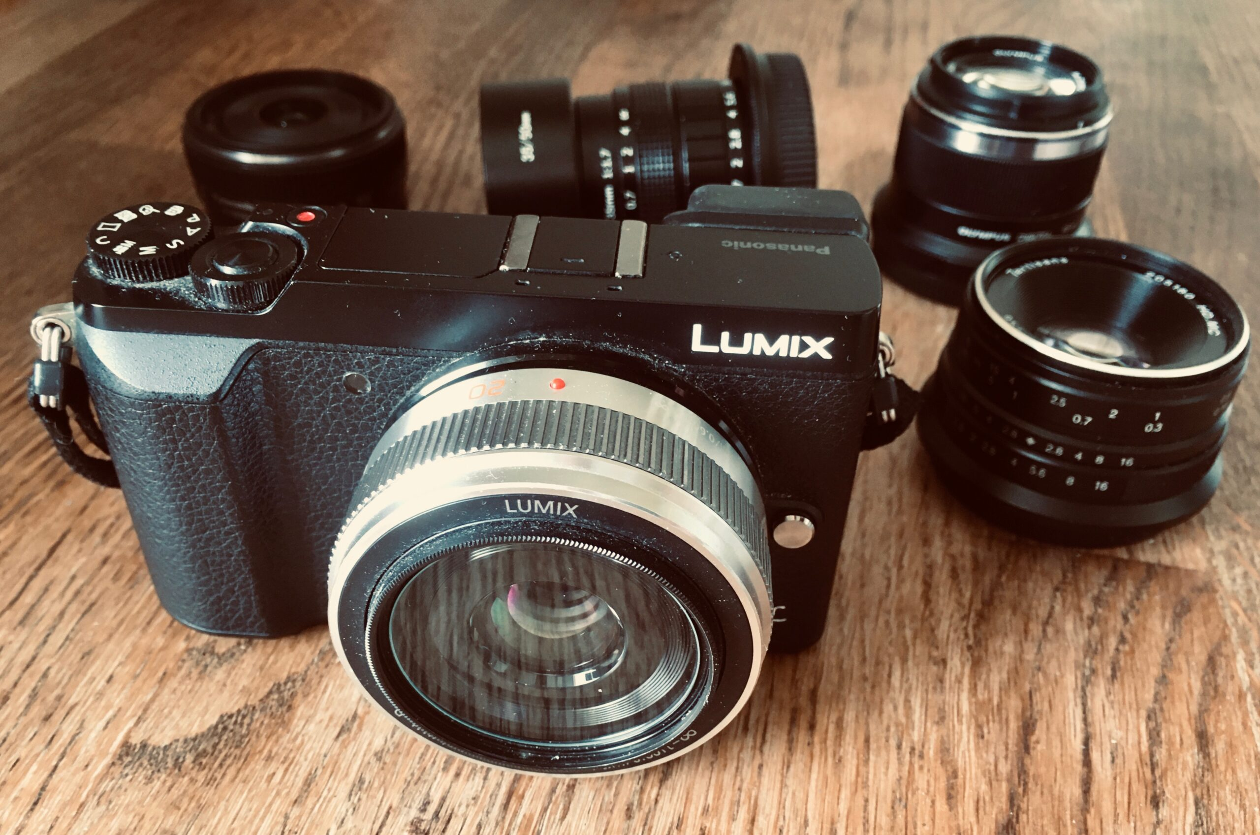 Lumix 20mm f/1.7 II on GX80