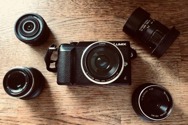 Lumix GX80 and M43 prime lenses